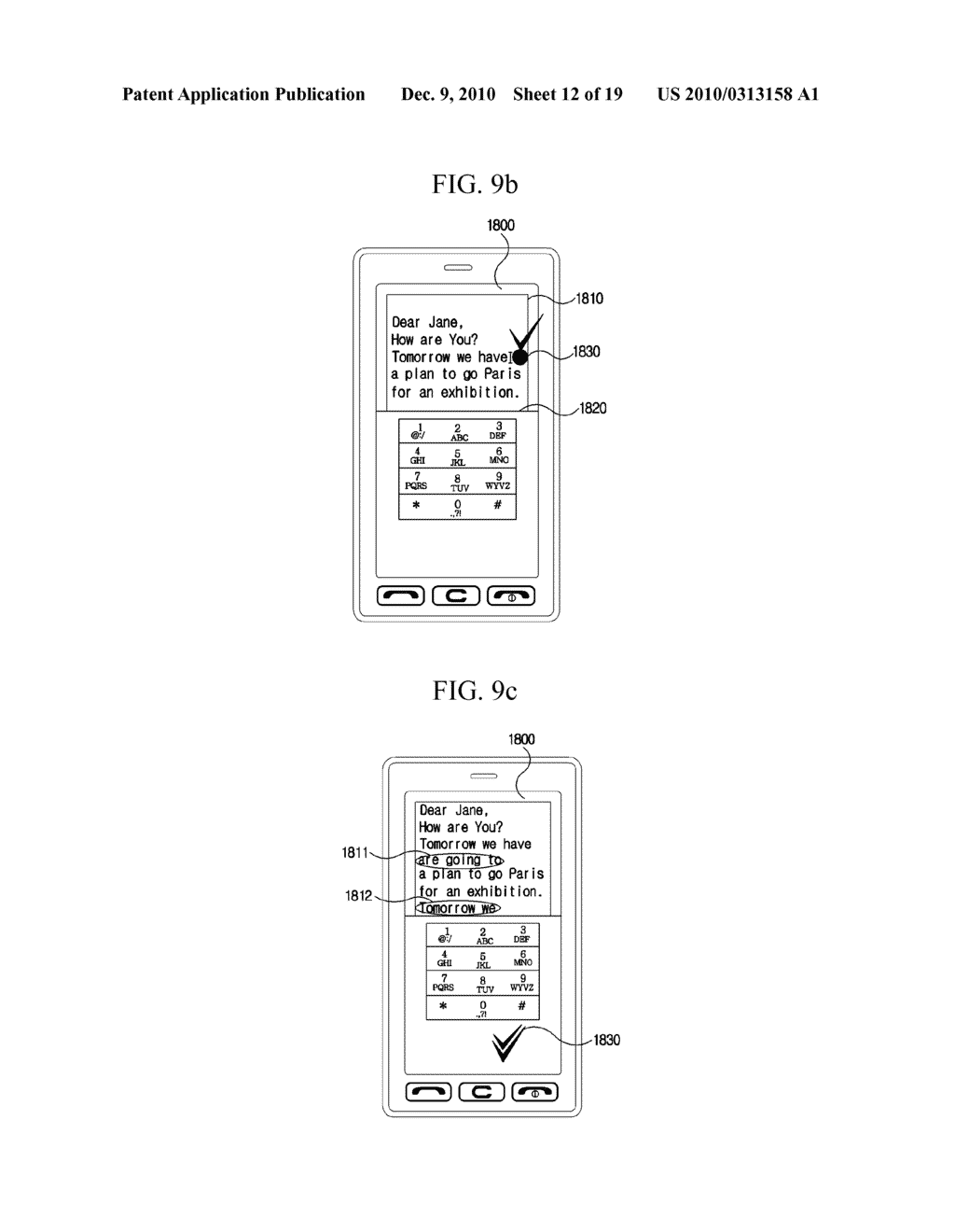 METHOD FOR EDITING DATA IN MOBILE TERMINAL AND MOBILE TERMINAL USING THE SAME - diagram, schematic, and image 13
