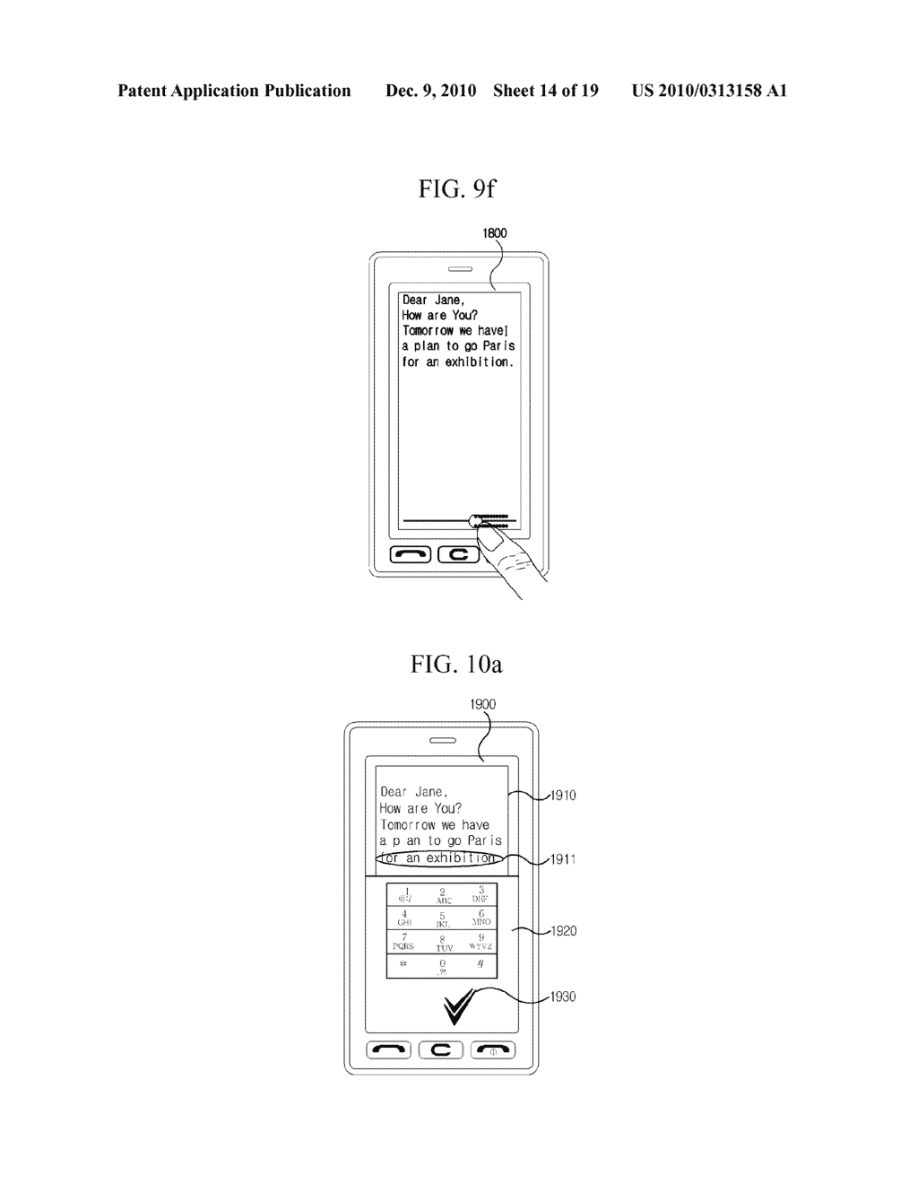 METHOD FOR EDITING DATA IN MOBILE TERMINAL AND MOBILE TERMINAL USING THE SAME - diagram, schematic, and image 15