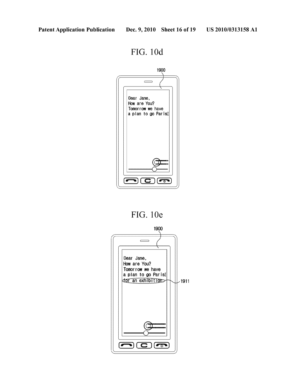 METHOD FOR EDITING DATA IN MOBILE TERMINAL AND MOBILE TERMINAL USING THE SAME - diagram, schematic, and image 17