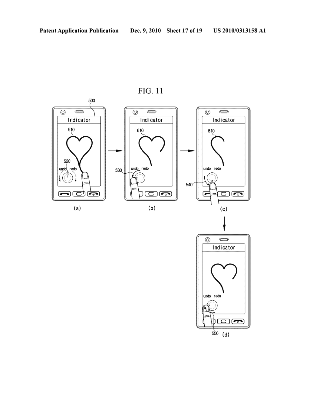 METHOD FOR EDITING DATA IN MOBILE TERMINAL AND MOBILE TERMINAL USING THE SAME - diagram, schematic, and image 18