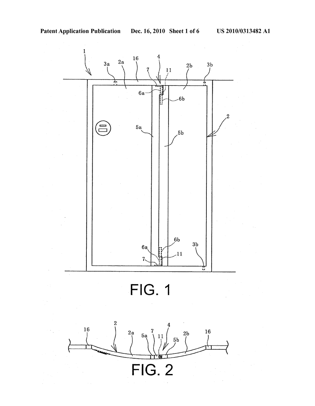 DOOR OPENING AND CLOSING DEVICE - diagram, schematic, and image 02