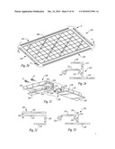 Roof mounting bracket for photovoltaic power generation system diagram and image
