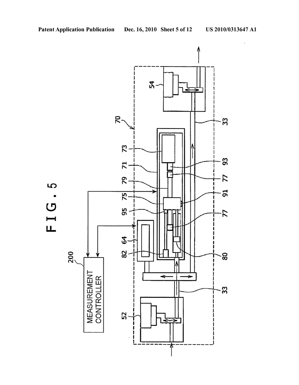 METHOD OF DOWNHOLE CHARACTERIZATION OF FORMATION FLUIDS, MEASUREMENT CONTROLLER FOR DOWNHOLE CHARACTERIZATION OF FORMATION FLUIDS, AND APPARATUS FOR DOWNHOLE CHARACTERIZATION OF FORMATION FLUIDS - diagram, schematic, and image 06