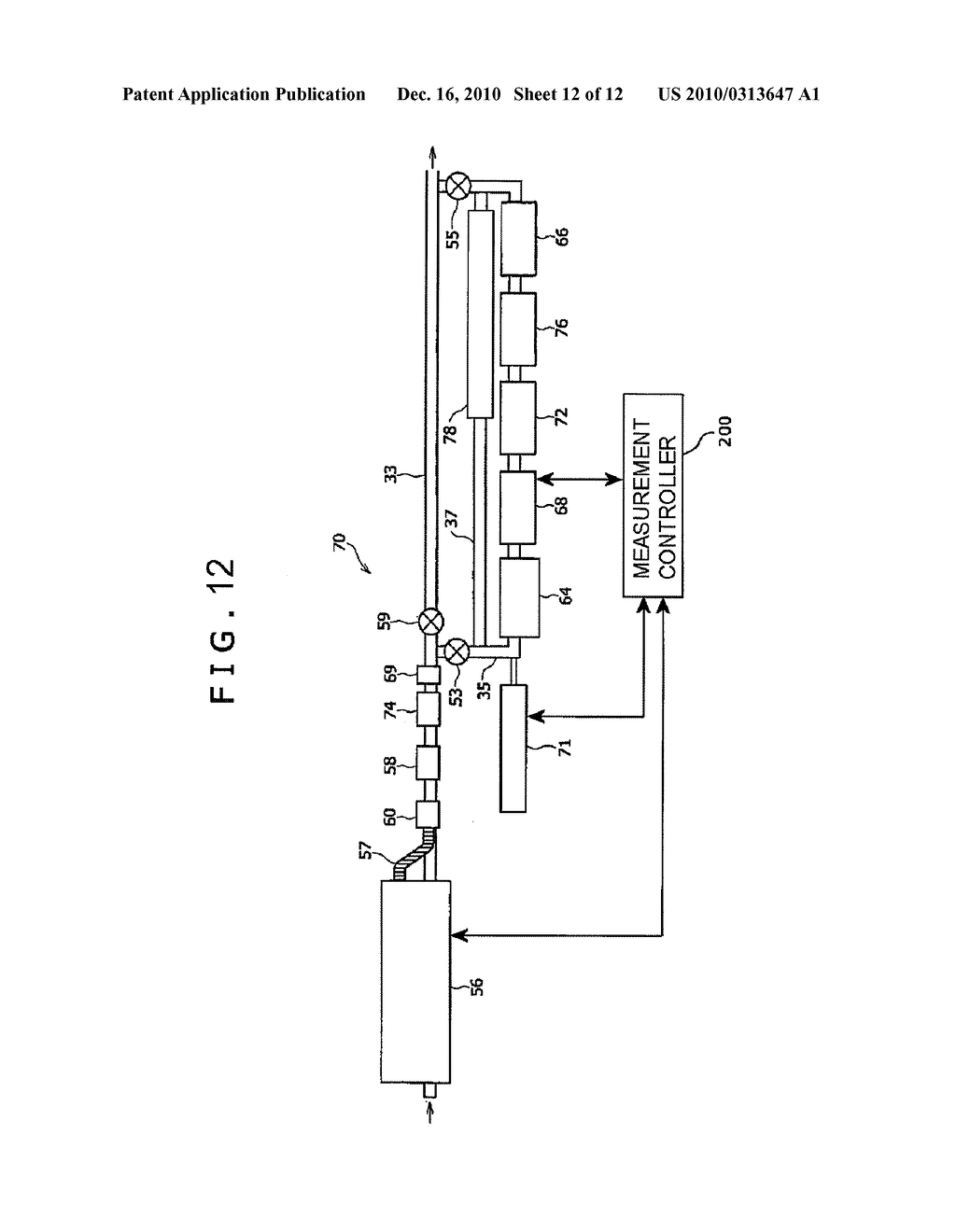 METHOD OF DOWNHOLE CHARACTERIZATION OF FORMATION FLUIDS, MEASUREMENT CONTROLLER FOR DOWNHOLE CHARACTERIZATION OF FORMATION FLUIDS, AND APPARATUS FOR DOWNHOLE CHARACTERIZATION OF FORMATION FLUIDS - diagram, schematic, and image 13