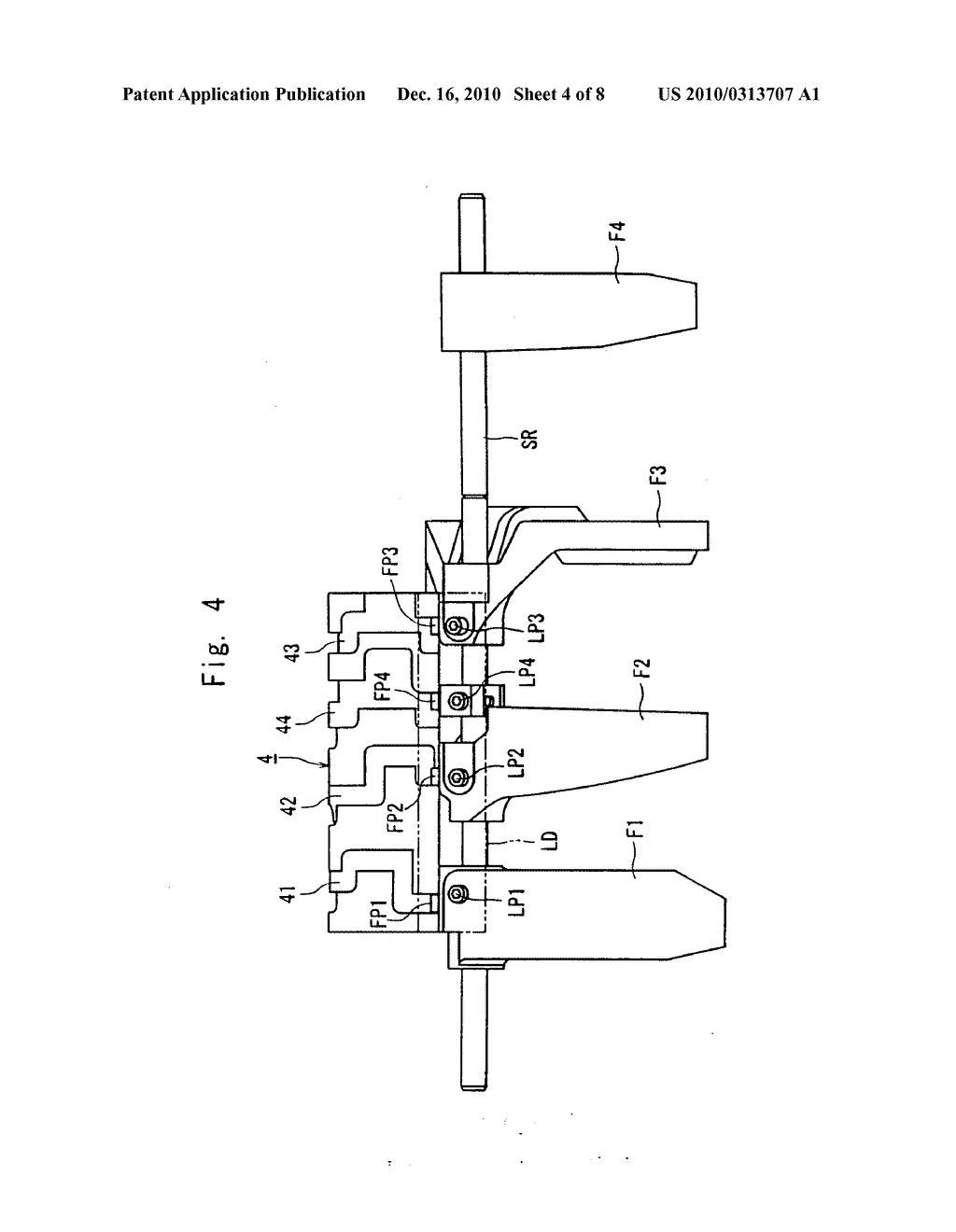 Interlocking Mechanism for a Transmission - diagram, schematic, and image 05