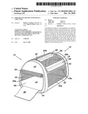 Portable Pet Housing with Zip Out Structure diagram and image
