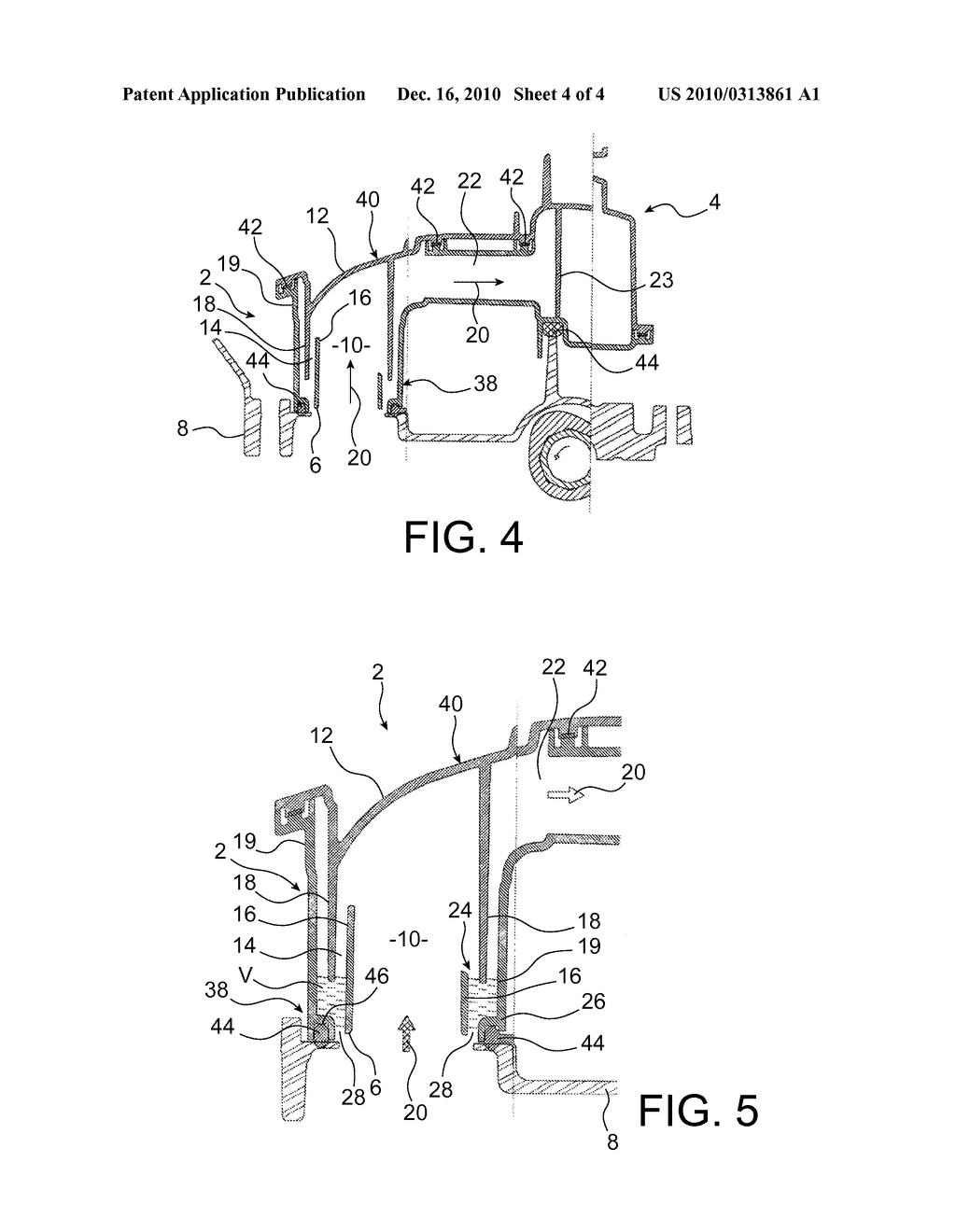 IMPROVED-EFFICIENCY DEVICE FOR RECOVERING THE OIL CONTAINED IN COMBUSTION GAS - diagram, schematic, and image 05