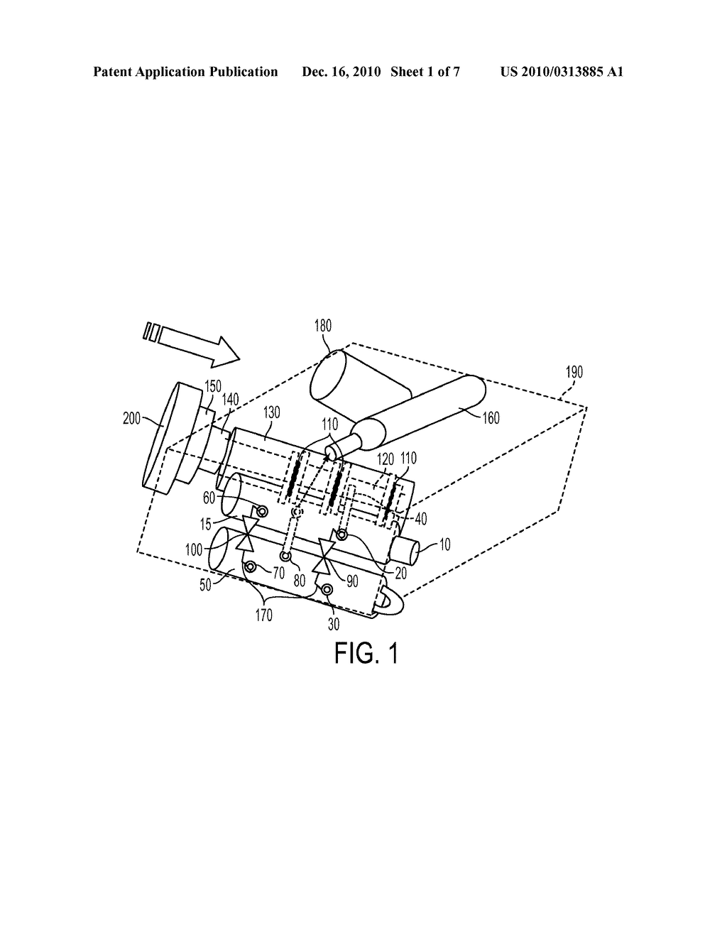 METHOD OF USING A SPOOL VALVE ASSEMBLY FOR DELIVERY OF A GASEOUS DRUG - diagram, schematic, and image 02