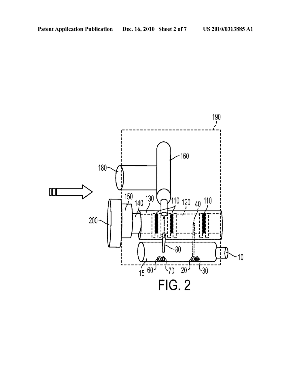 METHOD OF USING A SPOOL VALVE ASSEMBLY FOR DELIVERY OF A GASEOUS DRUG - diagram, schematic, and image 03