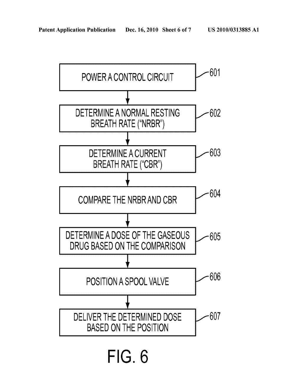 METHOD OF USING A SPOOL VALVE ASSEMBLY FOR DELIVERY OF A GASEOUS DRUG - diagram, schematic, and image 07