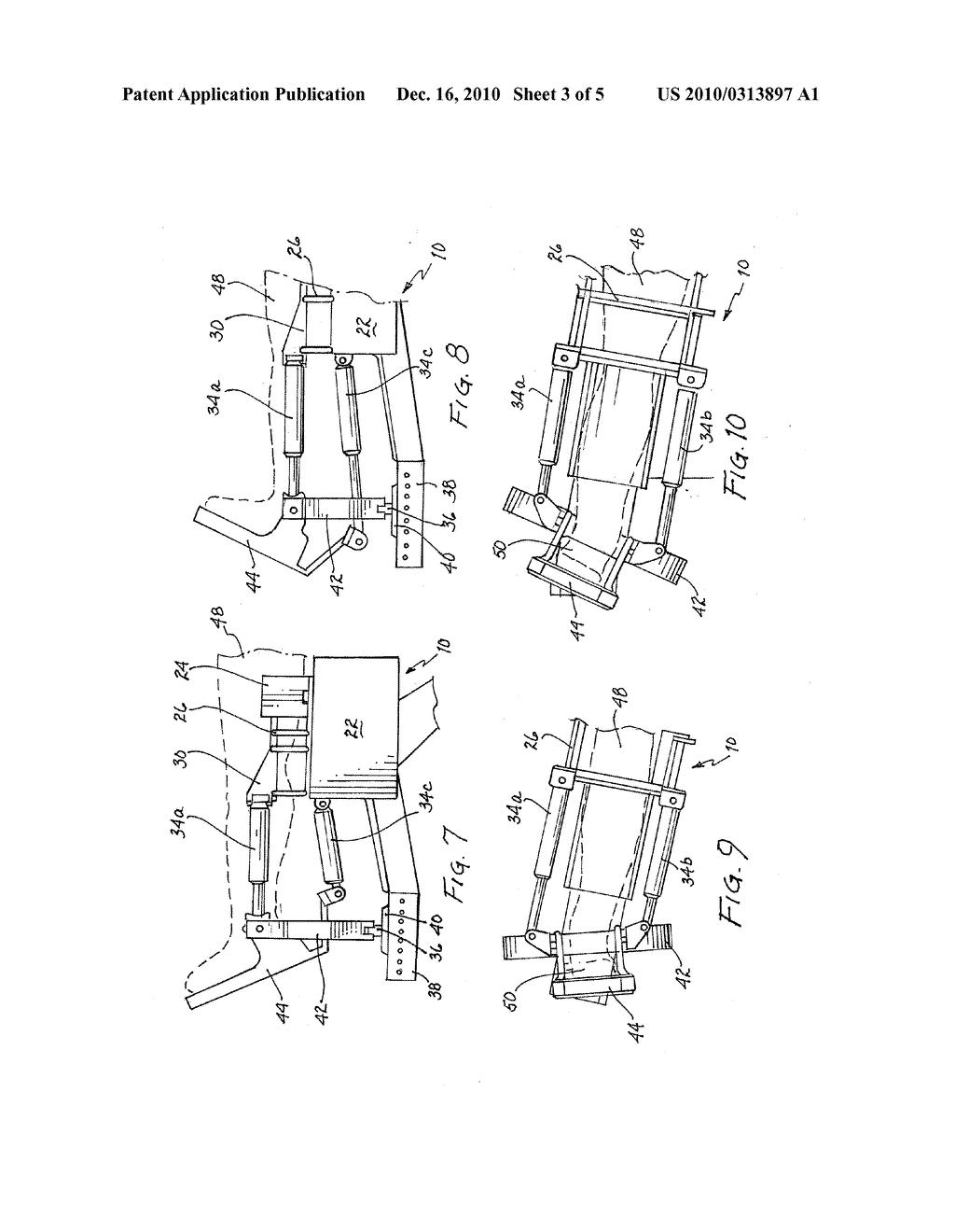 AUTOMATED THERAPY TABLE FOR TREATING LOWER EXTREMITIES AND METHOD THEREFOR - diagram, schematic, and image 04