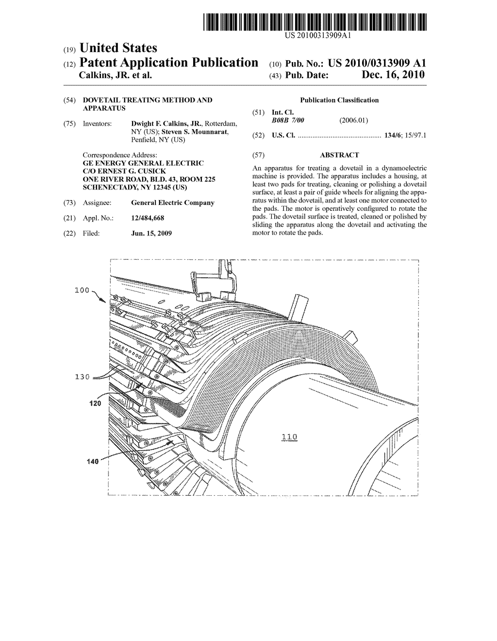 DOVETAIL TREATING METHOD AND APPARATUS - diagram, schematic, and image 01