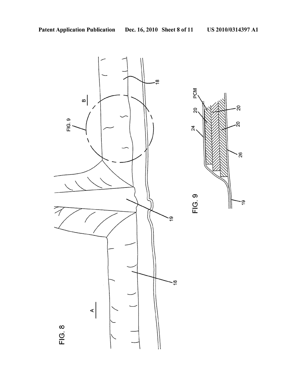 Thermal Containment System Providing Temperature Maintaining Shipping Package with Segmented Flexible PCM Panels - diagram, schematic, and image 09
