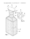 Dispenser Adapted To Engage A Bottle And For Use With Consumable Fluid Having Solid Ingredients diagram and image
