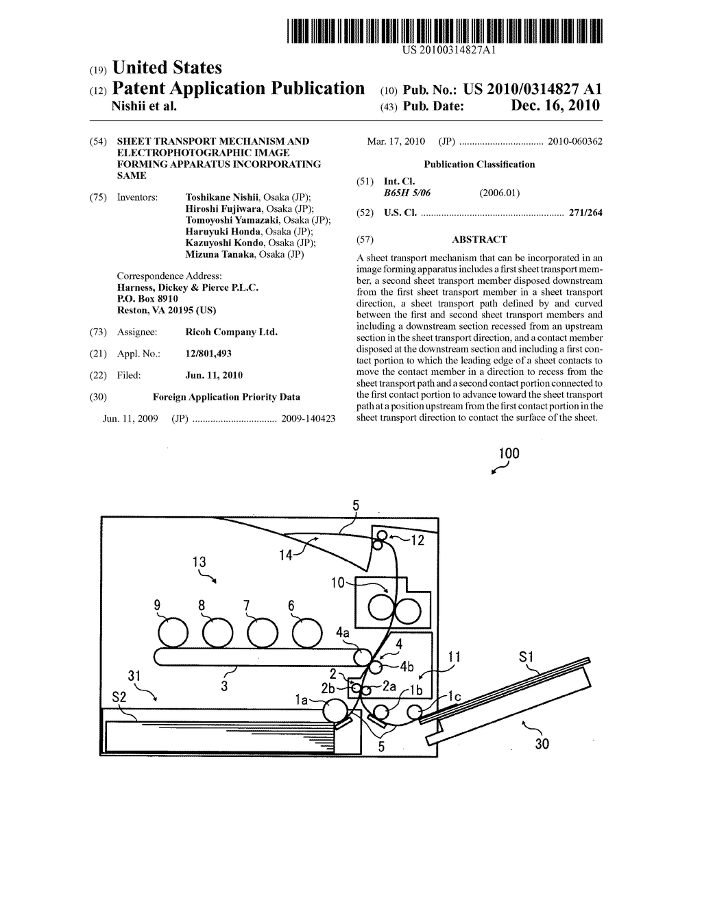 Sheet transport mechanism and electrophotographic image forming apparatus incorporating same - diagram, schematic, and image 01
