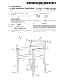 SEATING DEVICE WITH ERGONOMIC ARMRESTS diagram and image