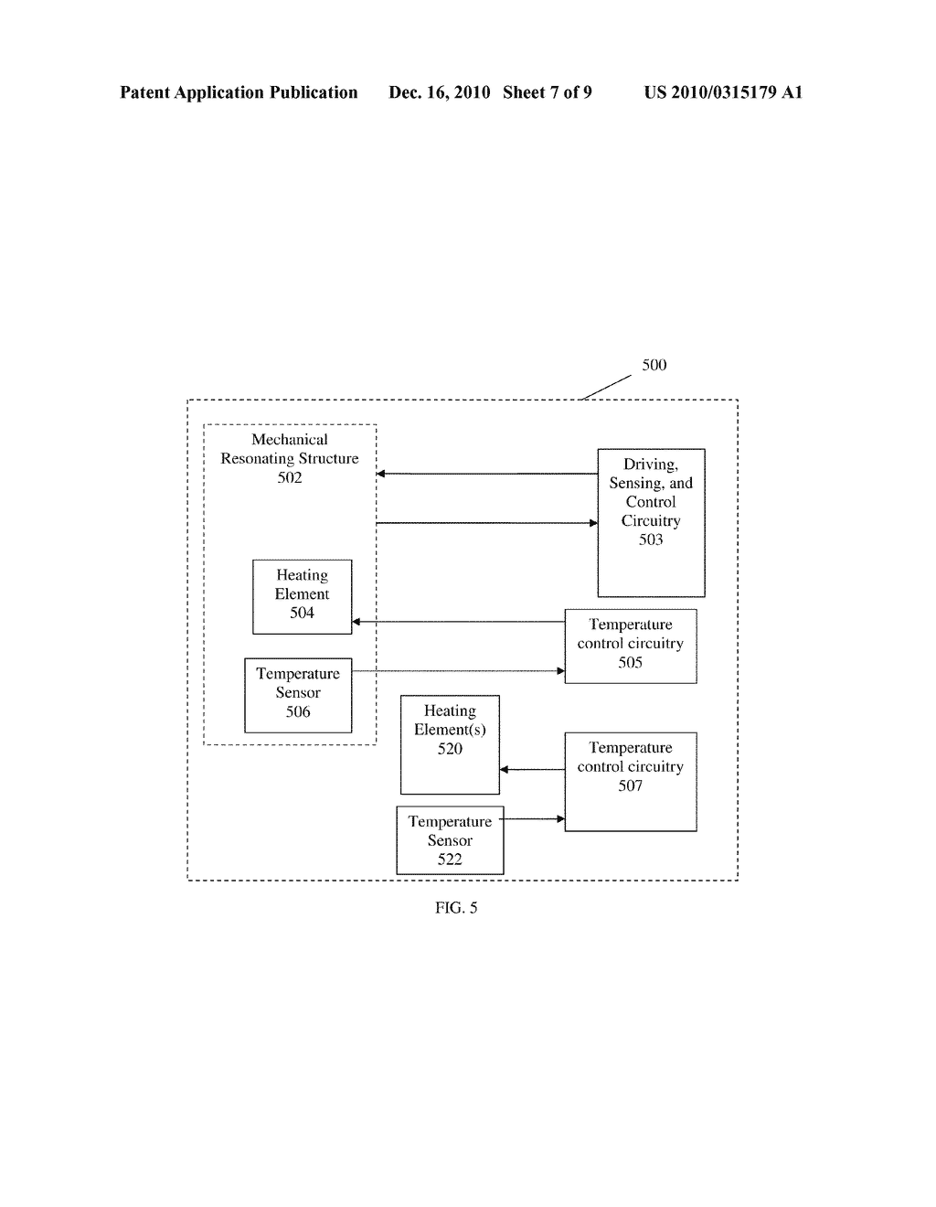 METHODS AND APPARATUS FOR TEMPERATURE CONTROL OF DEVICES AND MECHANICAL RESONATING STRUCTURES - diagram, schematic, and image 08