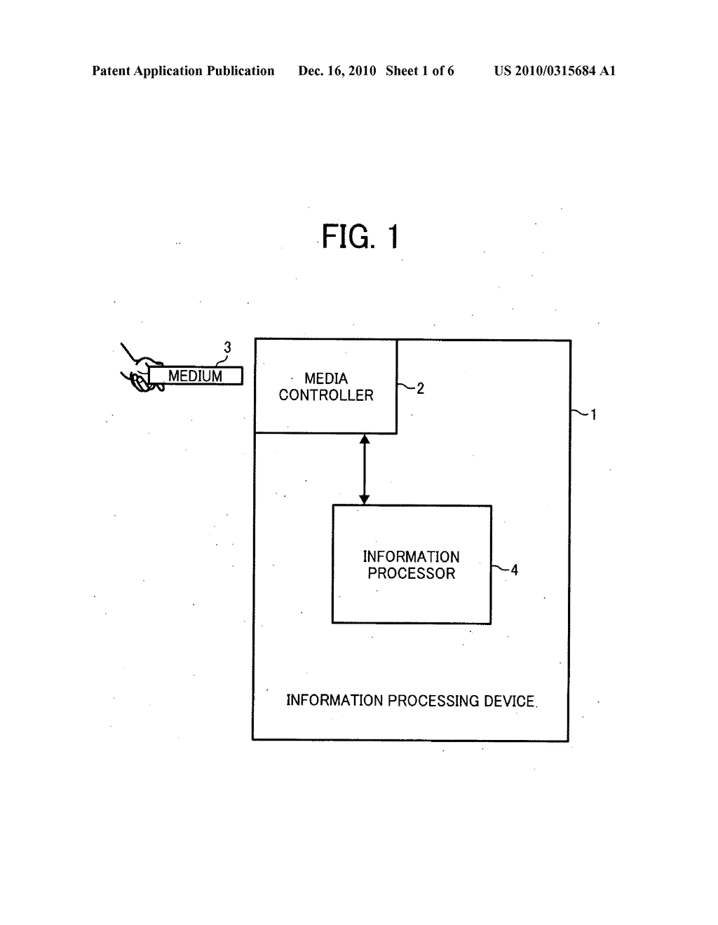 Information processing device, detachable storage medium access control circuit, and image forming apparatus - diagram, schematic, and image 02