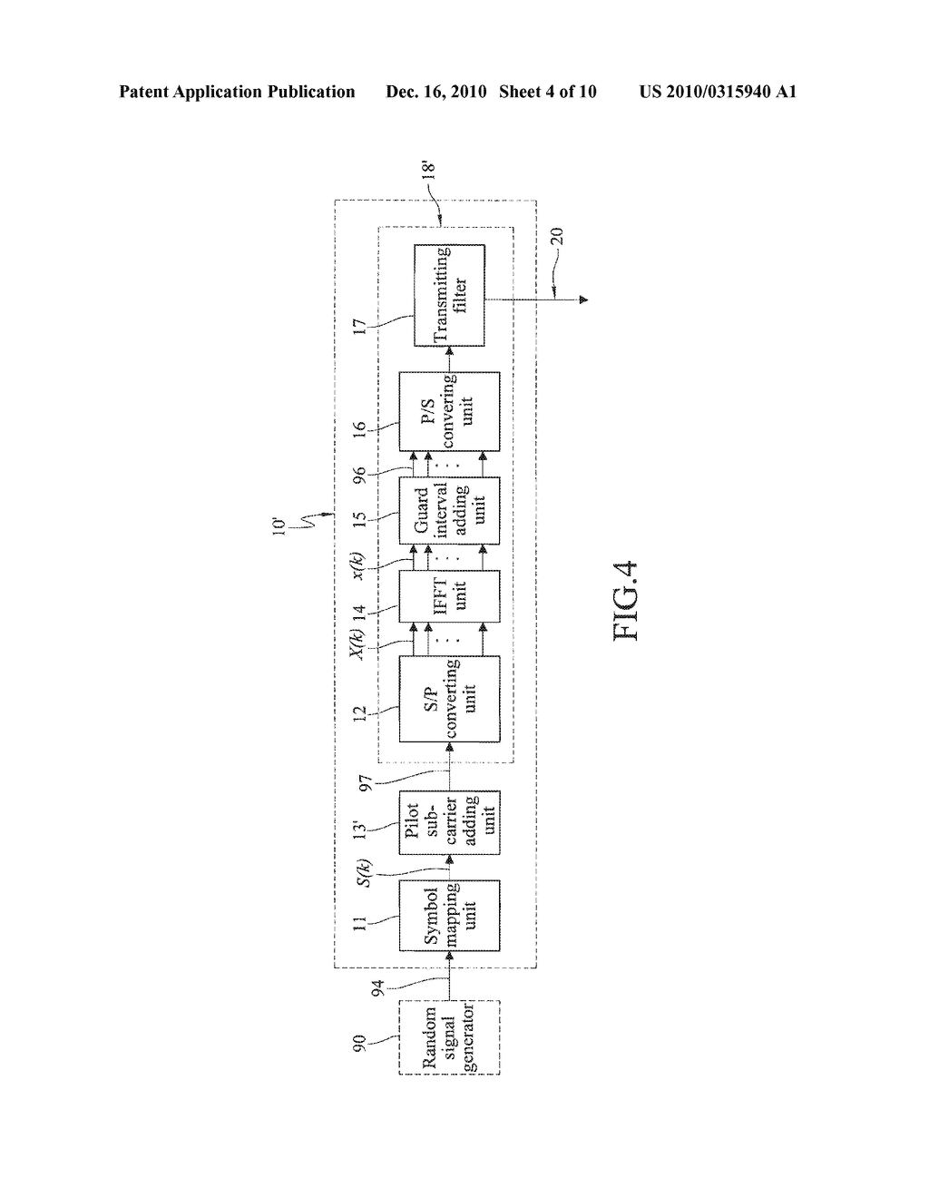 SIGNAL TRANSMITTING METHOD, SIGNAL RECEIVING METHOD AND SIGNAL RECEIVING DEVICE IN OFDM SYSTEM - diagram, schematic, and image 05