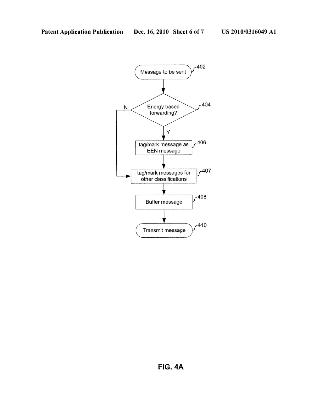 METHOD AND SYSTEM FOR ENERGY-EFFICIENCY-BASED PACKET CLASSIFICATION - diagram, schematic, and image 07