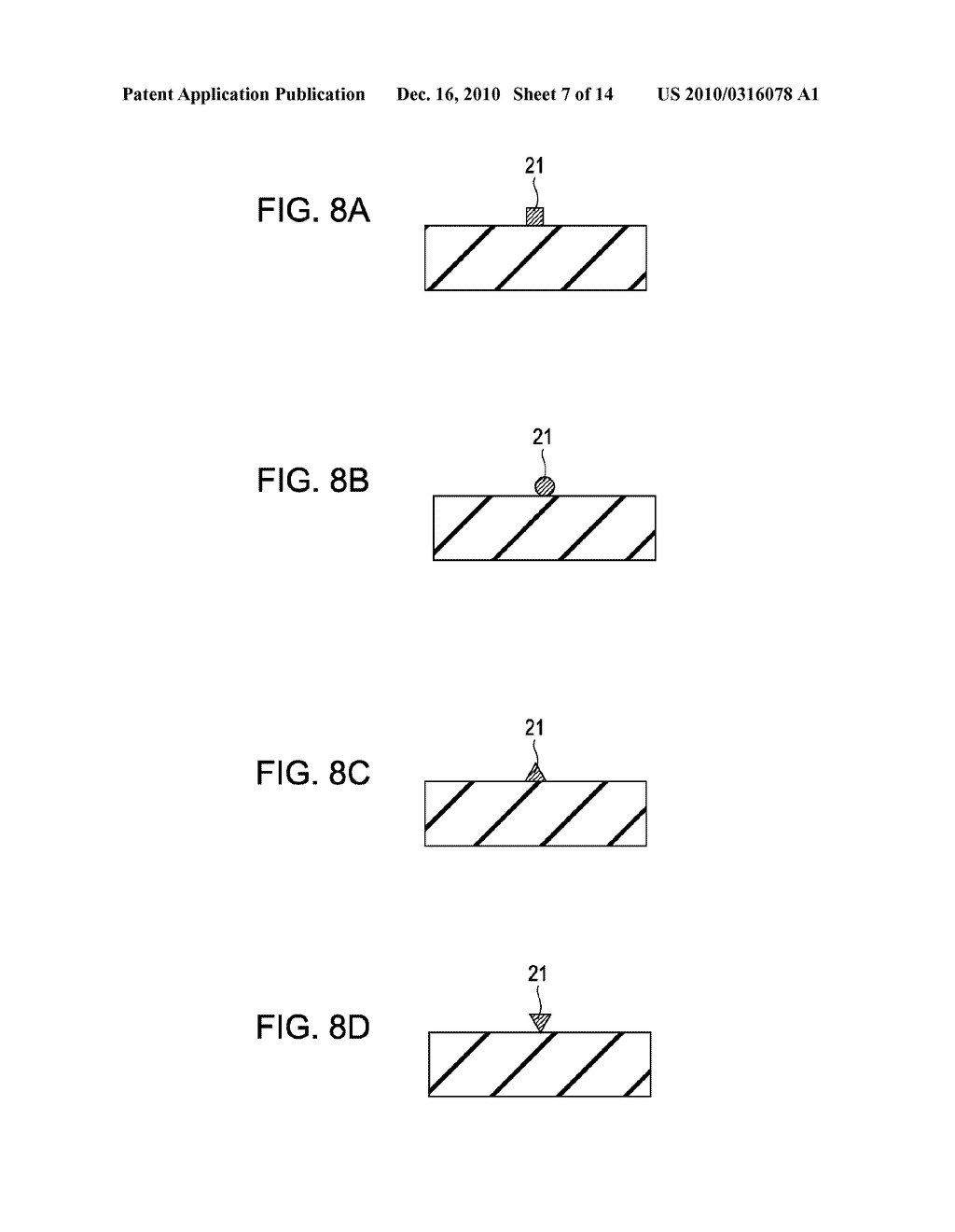 SURFACE PLASMON GENERATING APPARATUS AND METHOD FOR MAKING THE SAME - diagram, schematic, and image 08