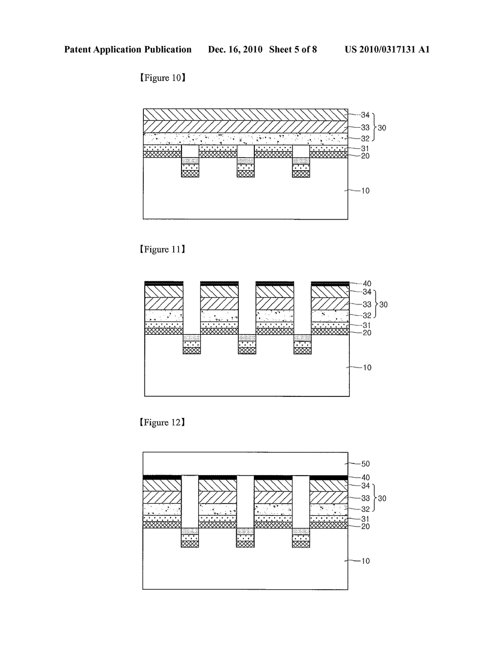 METHOD FOR MANUFACTURING LIGHT EMITTING DEVICE - diagram, schematic, and image 06