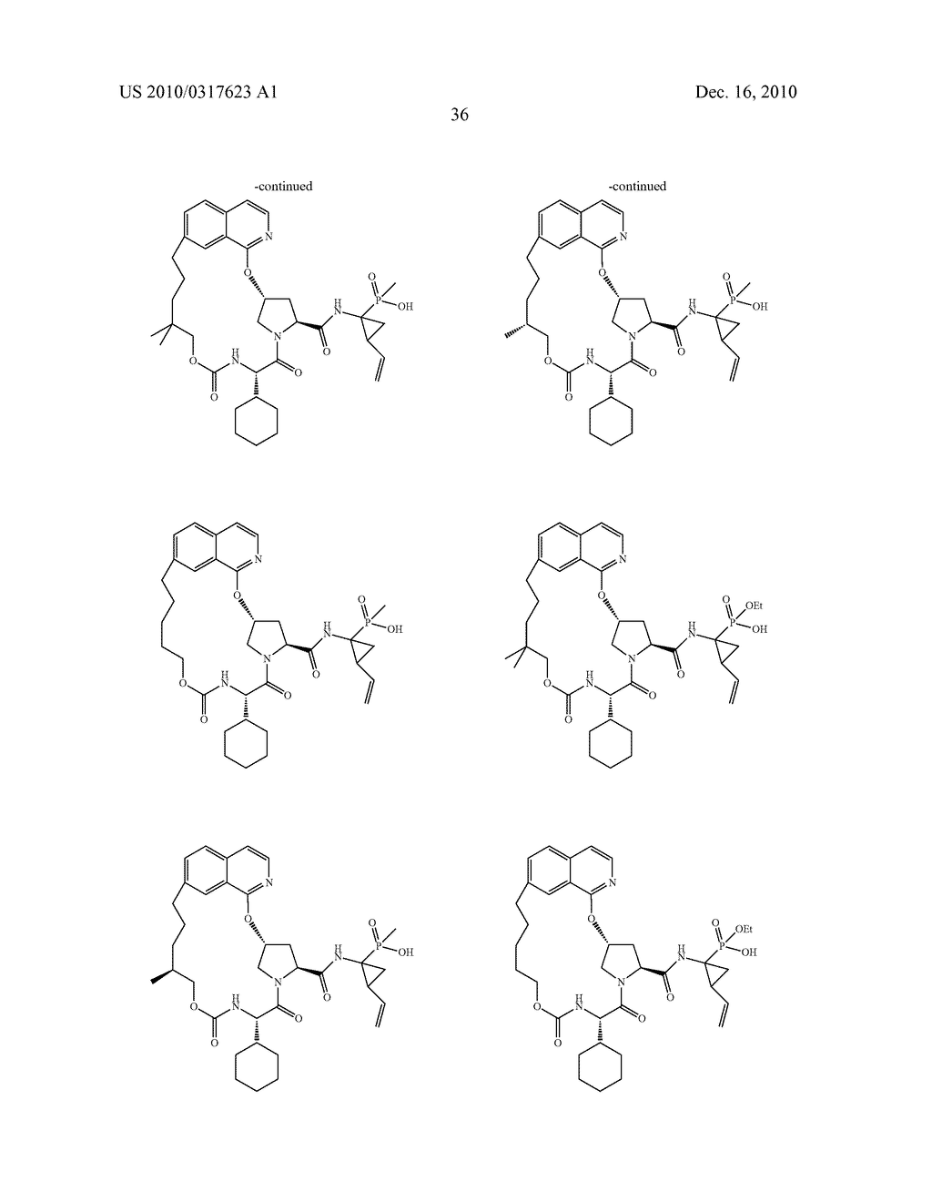 HCV NS3 Protease Inhibitors - diagram, schematic, and image 37