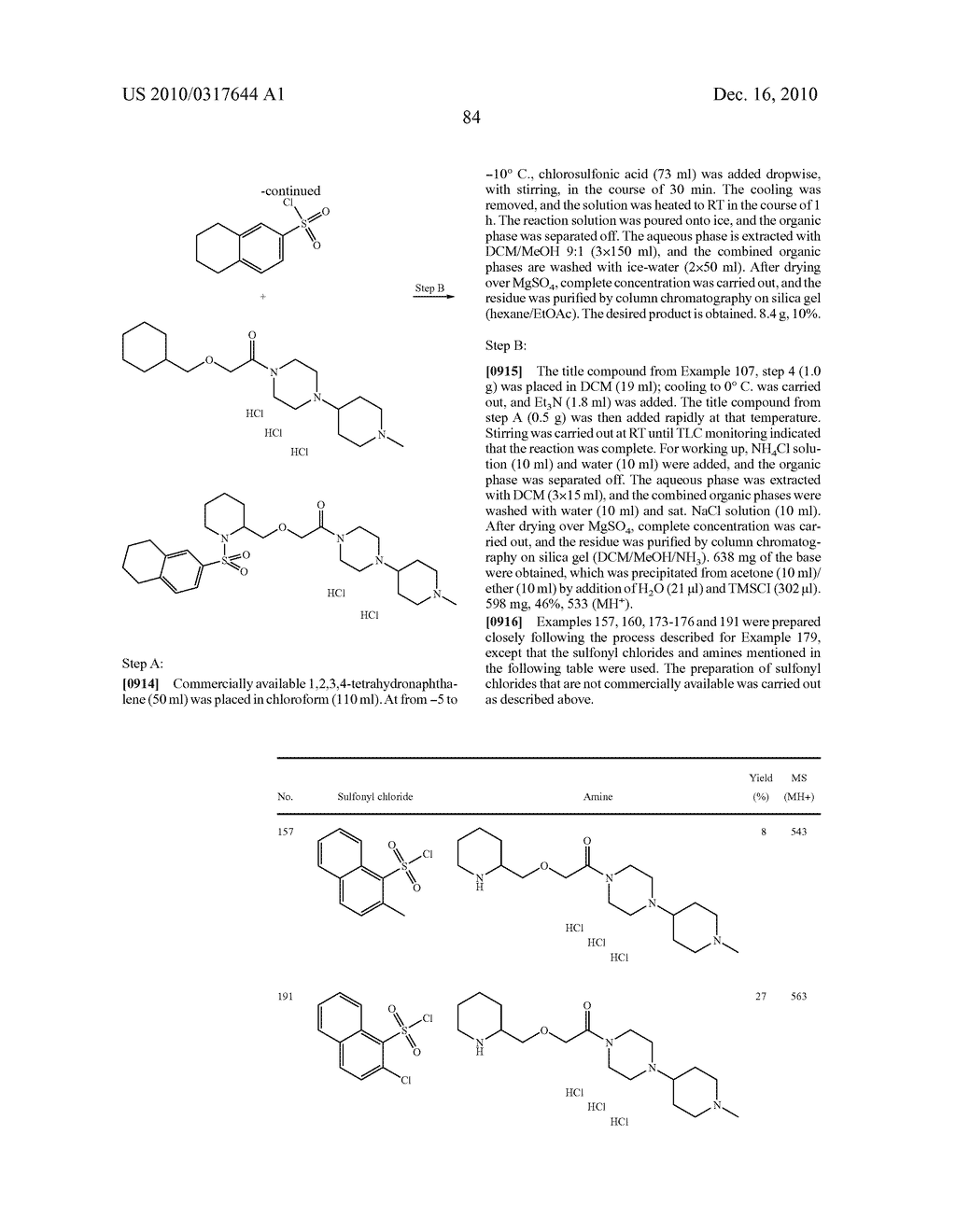 Substituted Sulfonamide Compounds - diagram, schematic, and image 85