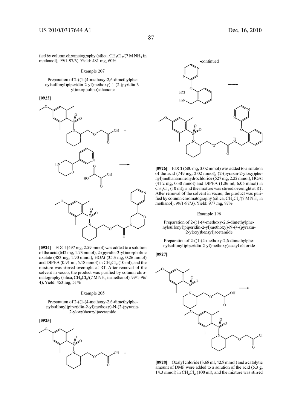 Substituted Sulfonamide Compounds - diagram, schematic, and image 88