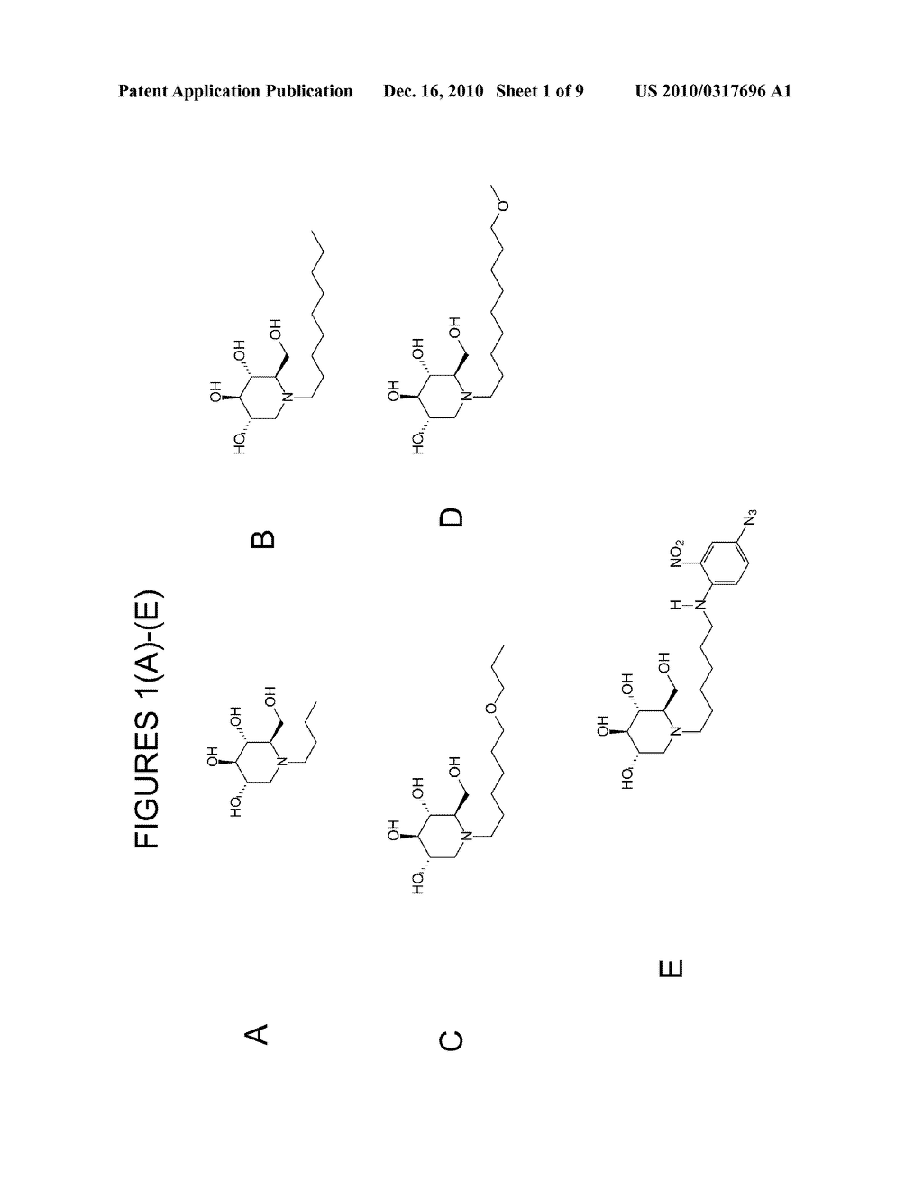IMINOSUGARS AND METHODS OF TREATING BUNYAVIRAL AND TOGAVIRAL DISEASES - diagram, schematic, and image 02