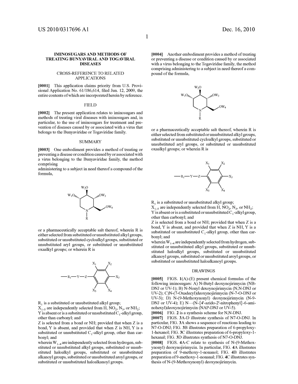 IMINOSUGARS AND METHODS OF TREATING BUNYAVIRAL AND TOGAVIRAL DISEASES - diagram, schematic, and image 11