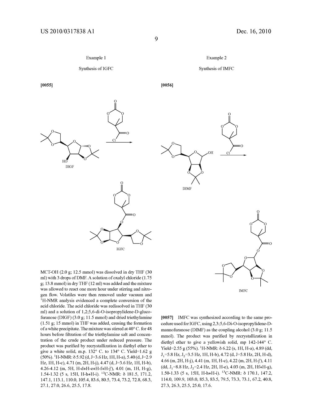 CYCLIC CARBONYL MONOMERS FUNCTIONALIZED WITH CARBOHYDRATES, POLYMERS DERIVED THEREFROM, AND METHODS OF PREPARATION THEREOF - diagram, schematic, and image 12