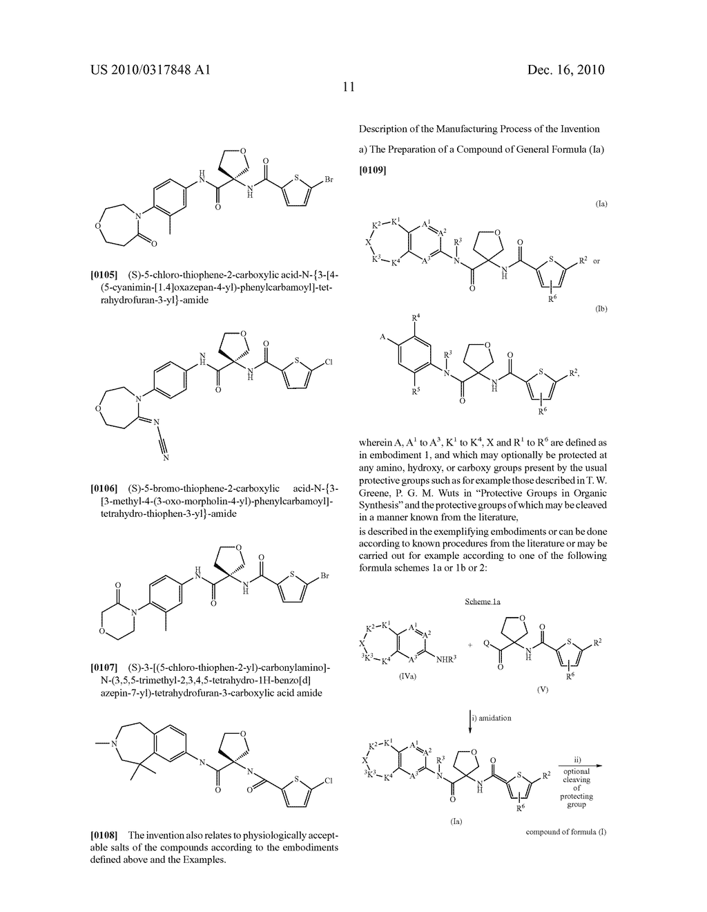 PROCESS FOR THE SYNTHESIS OF DERIVATIVES OF 3-AMINO-TETRAHYDROFURAN-3-CARBOXYLIC ACID AND USE THEREOF AS MEDICAMENTS - diagram, schematic, and image 16