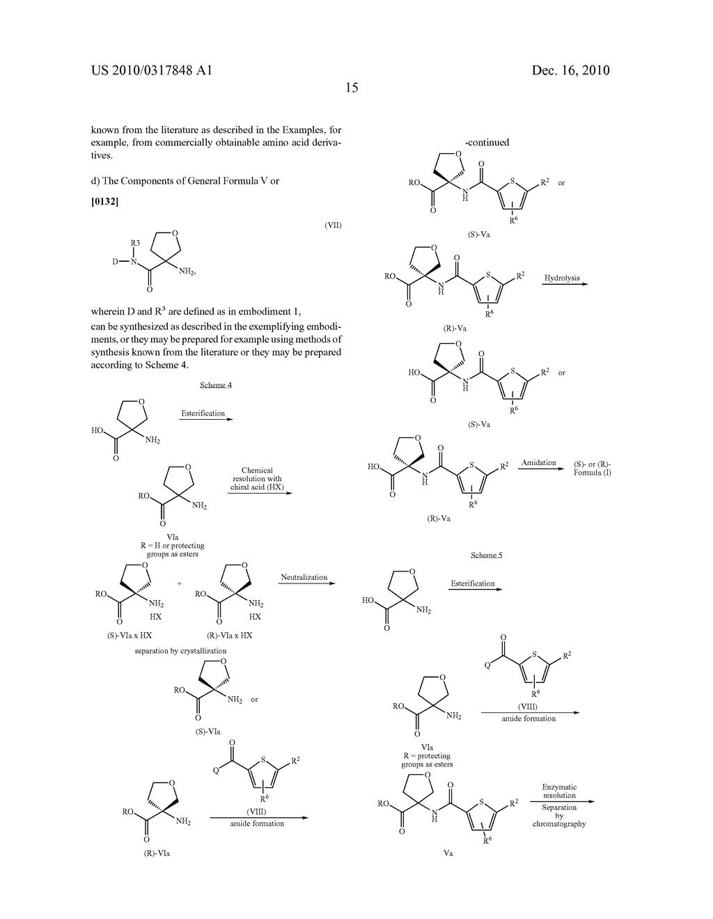 PROCESS FOR THE SYNTHESIS OF DERIVATIVES OF 3-AMINO-TETRAHYDROFURAN-3-CARBOXYLIC ACID AND USE THEREOF AS MEDICAMENTS - diagram, schematic, and image 20