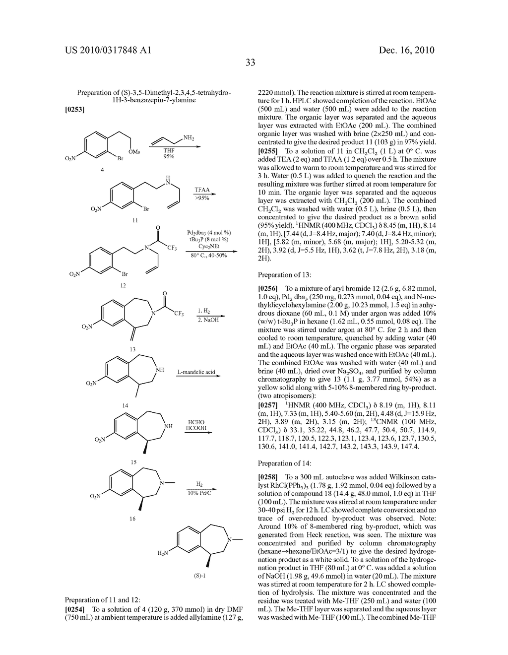 PROCESS FOR THE SYNTHESIS OF DERIVATIVES OF 3-AMINO-TETRAHYDROFURAN-3-CARBOXYLIC ACID AND USE THEREOF AS MEDICAMENTS - diagram, schematic, and image 38
