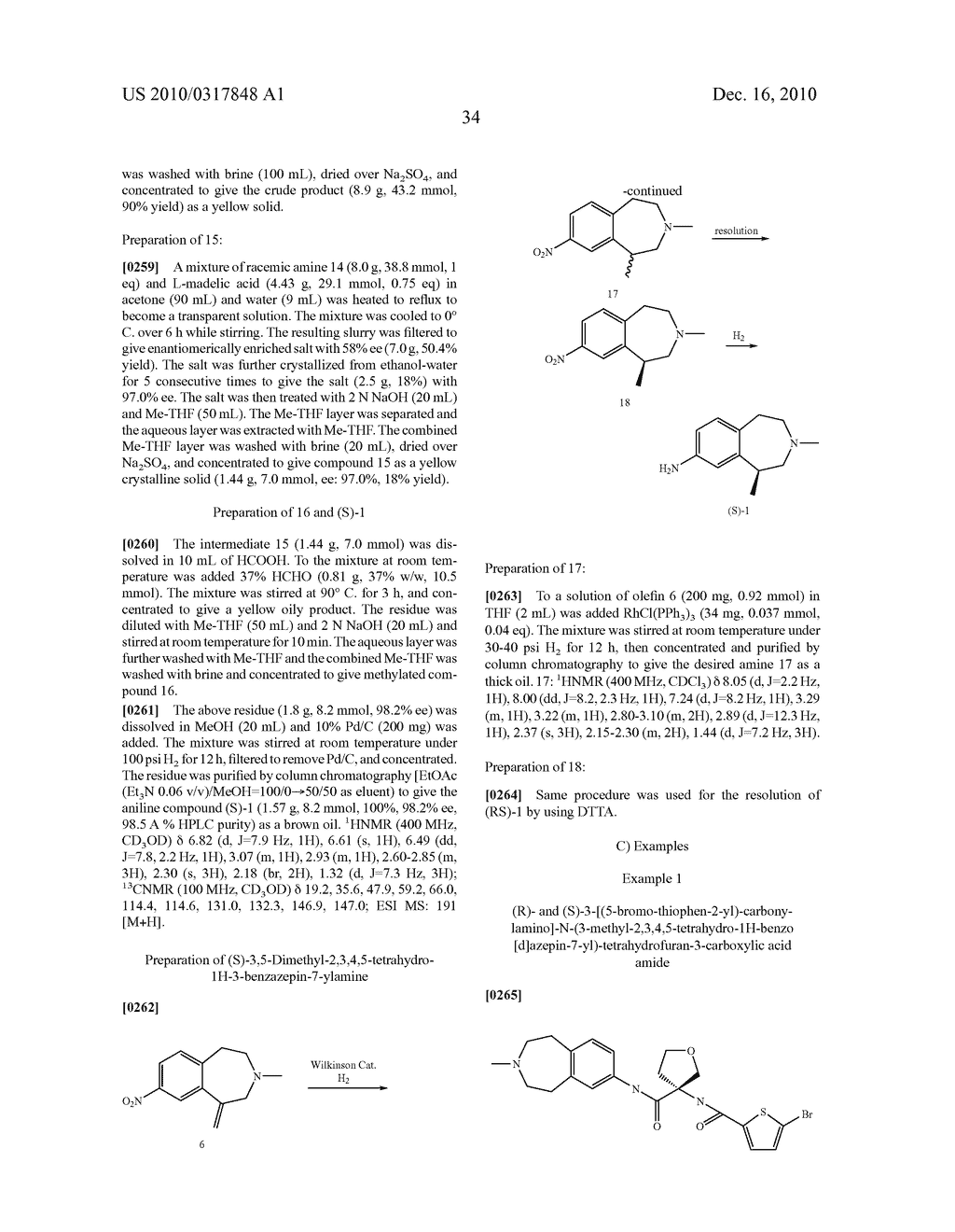 PROCESS FOR THE SYNTHESIS OF DERIVATIVES OF 3-AMINO-TETRAHYDROFURAN-3-CARBOXYLIC ACID AND USE THEREOF AS MEDICAMENTS - diagram, schematic, and image 39