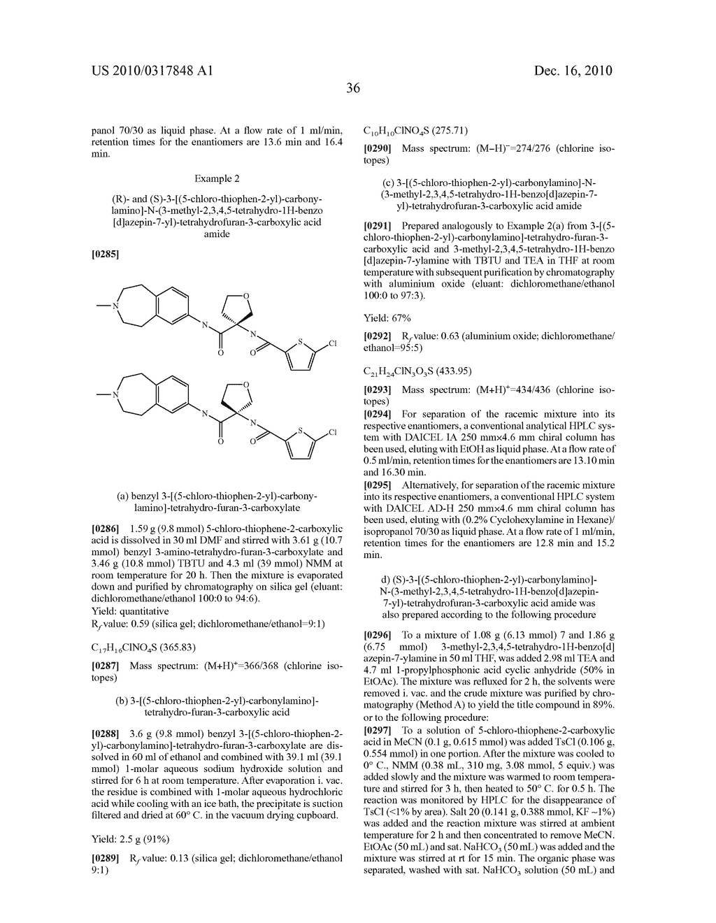 PROCESS FOR THE SYNTHESIS OF DERIVATIVES OF 3-AMINO-TETRAHYDROFURAN-3-CARBOXYLIC ACID AND USE THEREOF AS MEDICAMENTS - diagram, schematic, and image 41
