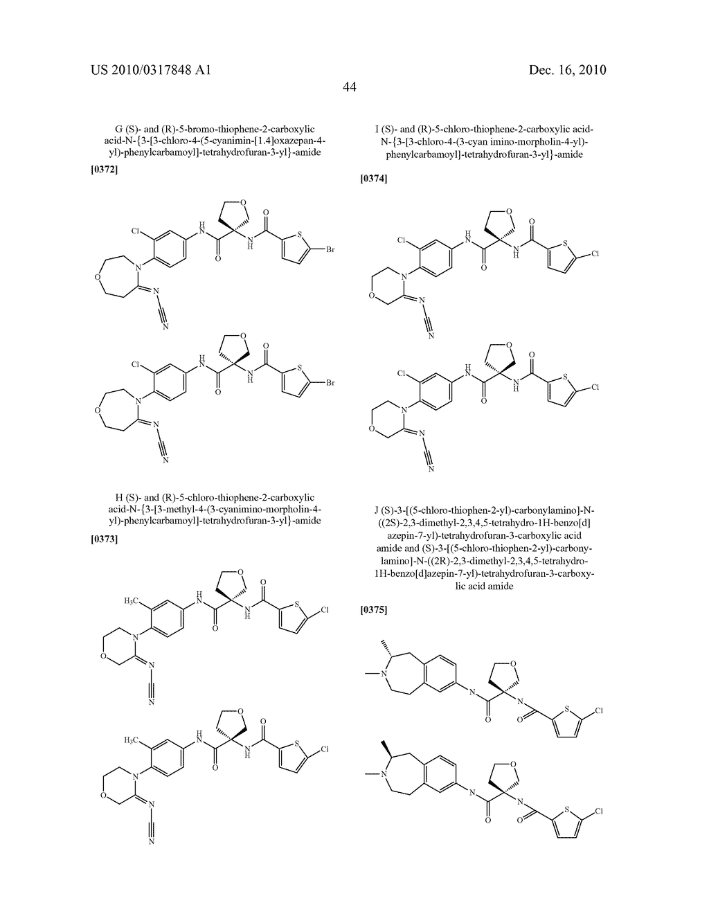 PROCESS FOR THE SYNTHESIS OF DERIVATIVES OF 3-AMINO-TETRAHYDROFURAN-3-CARBOXYLIC ACID AND USE THEREOF AS MEDICAMENTS - diagram, schematic, and image 49