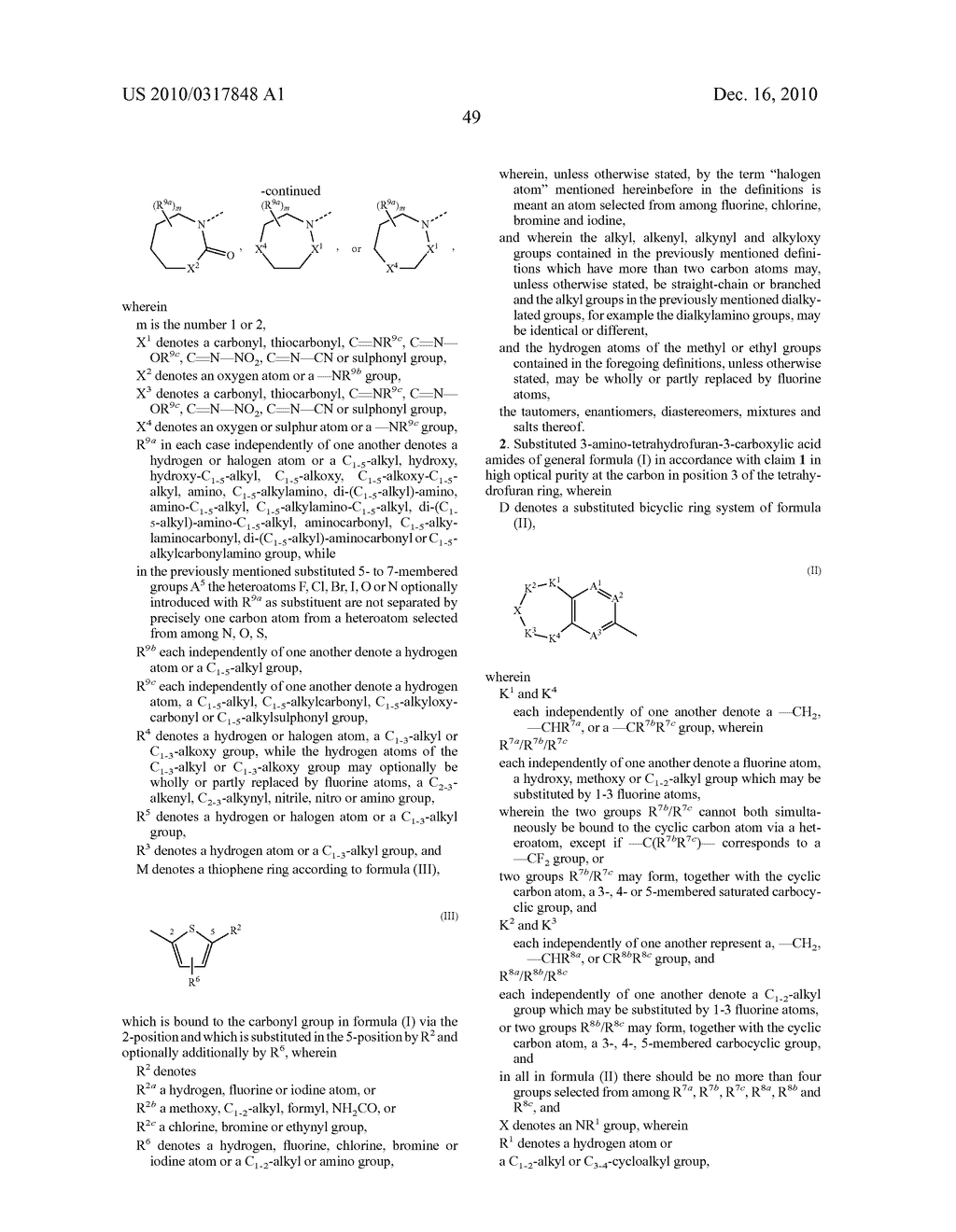 PROCESS FOR THE SYNTHESIS OF DERIVATIVES OF 3-AMINO-TETRAHYDROFURAN-3-CARBOXYLIC ACID AND USE THEREOF AS MEDICAMENTS - diagram, schematic, and image 54