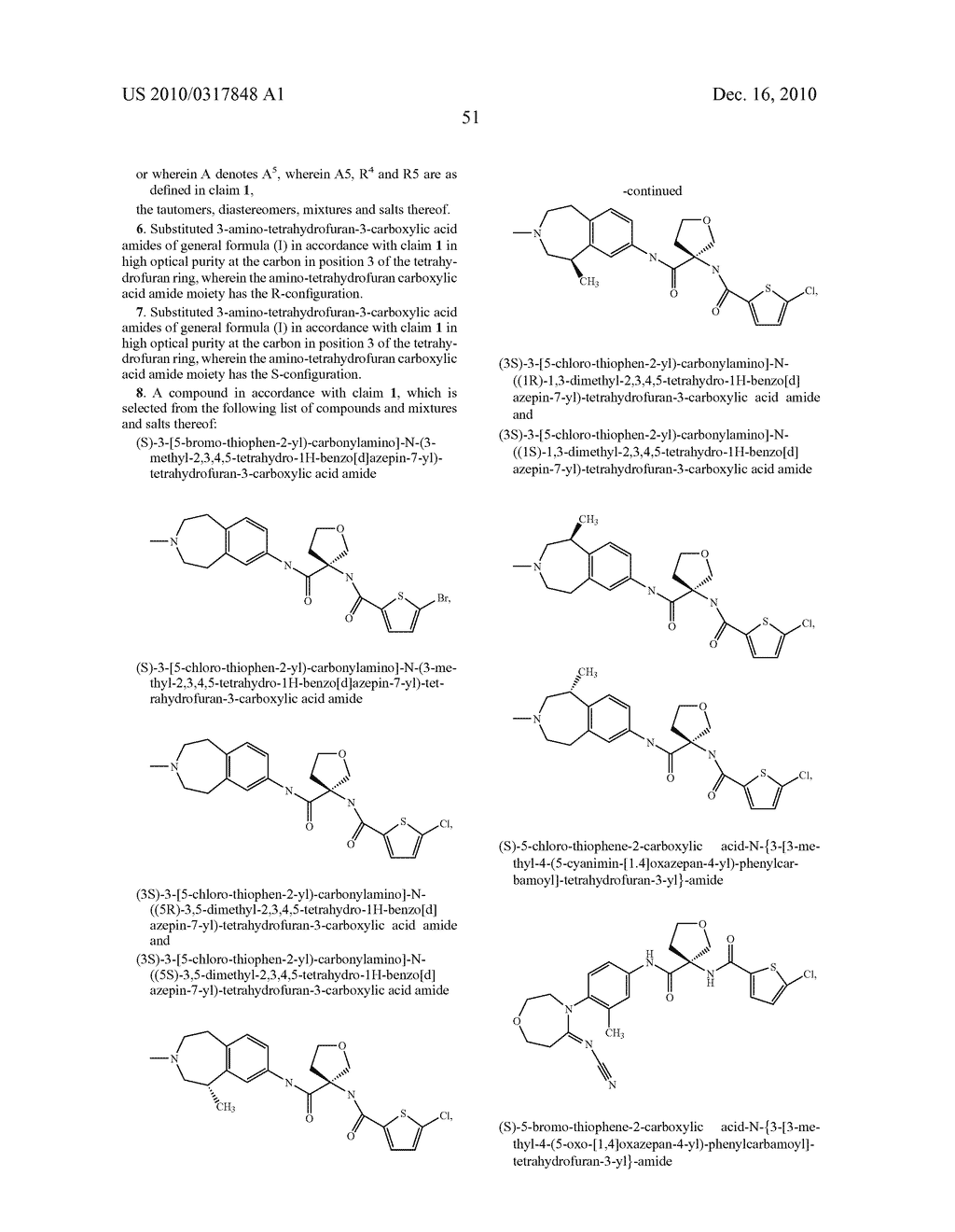 PROCESS FOR THE SYNTHESIS OF DERIVATIVES OF 3-AMINO-TETRAHYDROFURAN-3-CARBOXYLIC ACID AND USE THEREOF AS MEDICAMENTS - diagram, schematic, and image 56