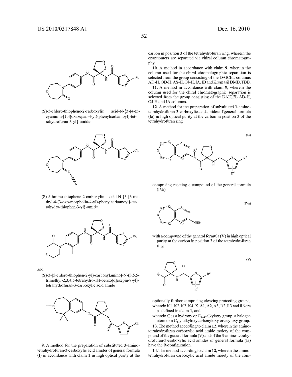 PROCESS FOR THE SYNTHESIS OF DERIVATIVES OF 3-AMINO-TETRAHYDROFURAN-3-CARBOXYLIC ACID AND USE THEREOF AS MEDICAMENTS - diagram, schematic, and image 57
