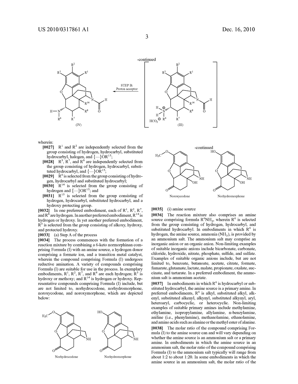 Remove Amination of 6-Keto Normorphinans by Catalytic Hydrogen Transfer - diagram, schematic, and image 04