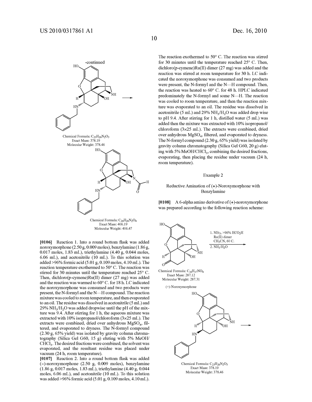 Remove Amination of 6-Keto Normorphinans by Catalytic Hydrogen Transfer - diagram, schematic, and image 11