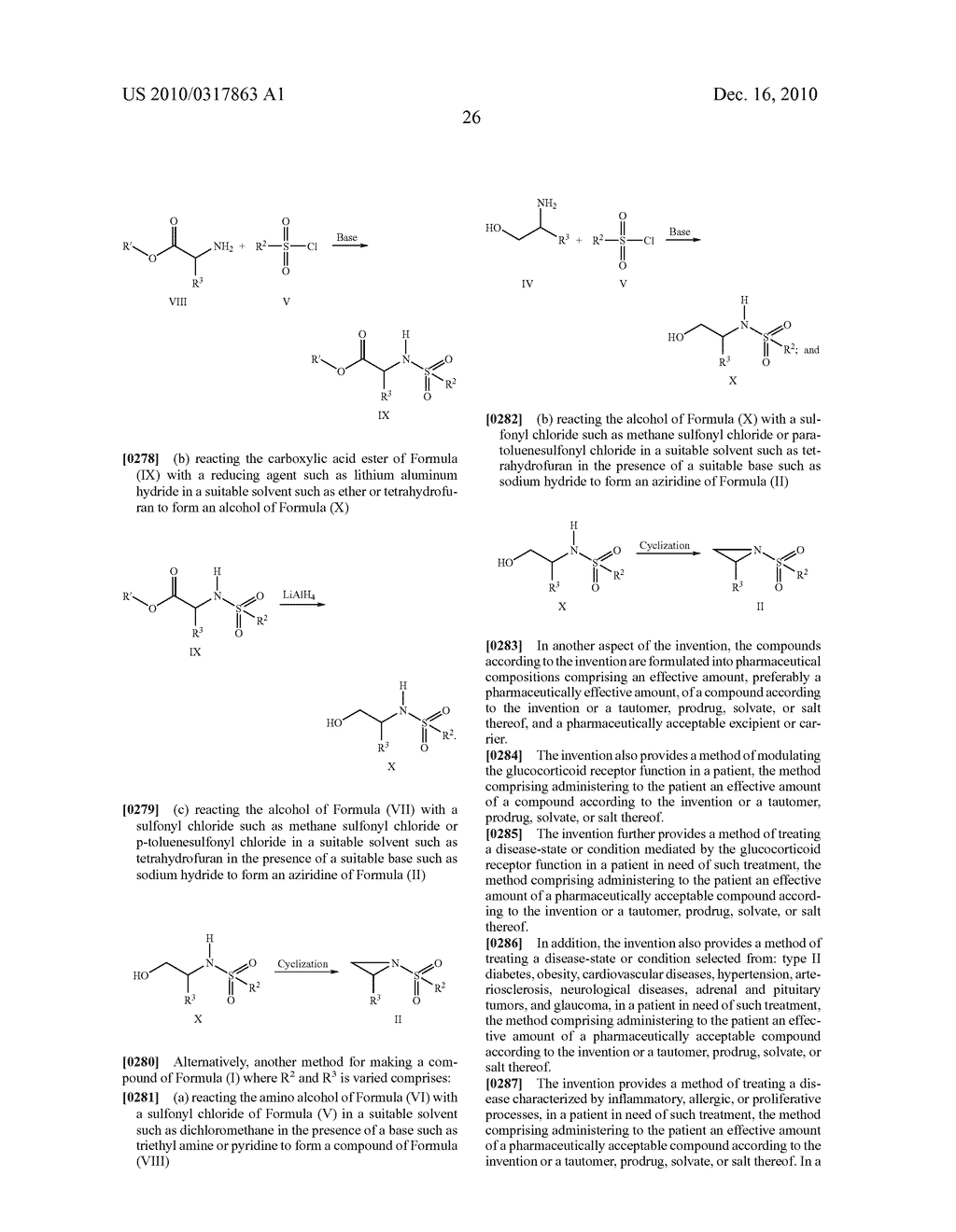Glucocorticoid Mimetics, Methods of Making Them, Pharmaceutical Compositions and Uses Thereof - diagram, schematic, and image 27