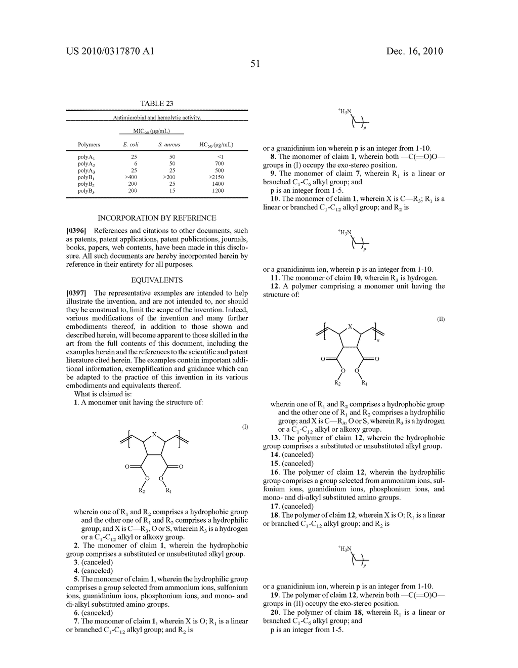 ANTIMICROBIAL POLYMERS - diagram, schematic, and image 118