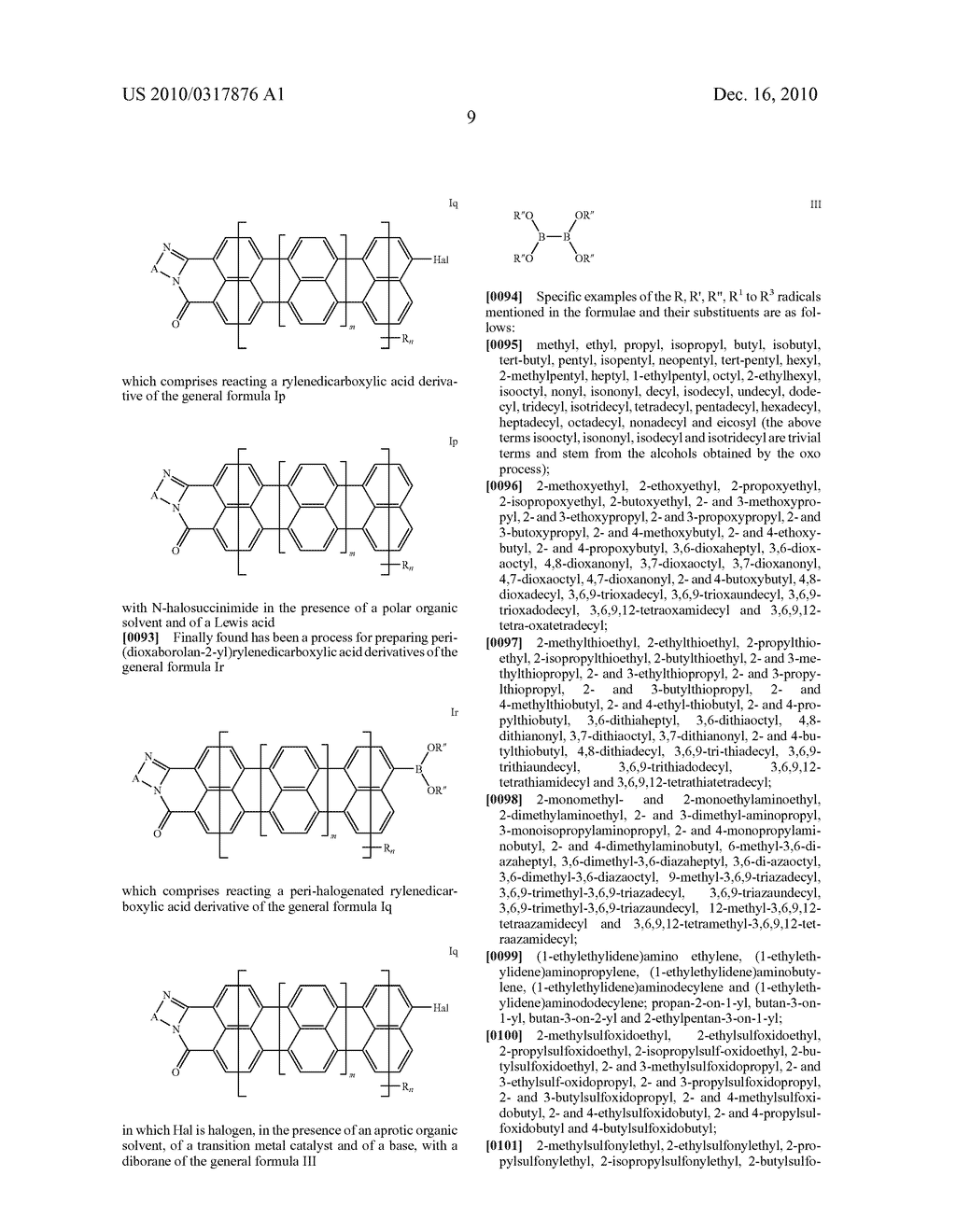 TERRYLENE AND QUATERRYLENE DERIVATIVES - diagram, schematic, and image 10
