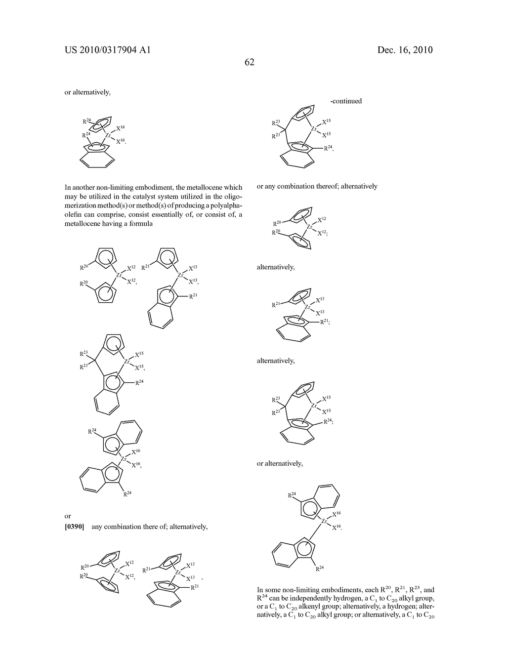 OLIGOMERIZATION OF ALPHA OLEFINS USING METALLOCENE-SSA CATALYST SYSTEMS AND USE OF THE RESULTANT POLYALPHAOLEFINS TO PREPARE LUBRICANT BLENDS - diagram, schematic, and image 74
