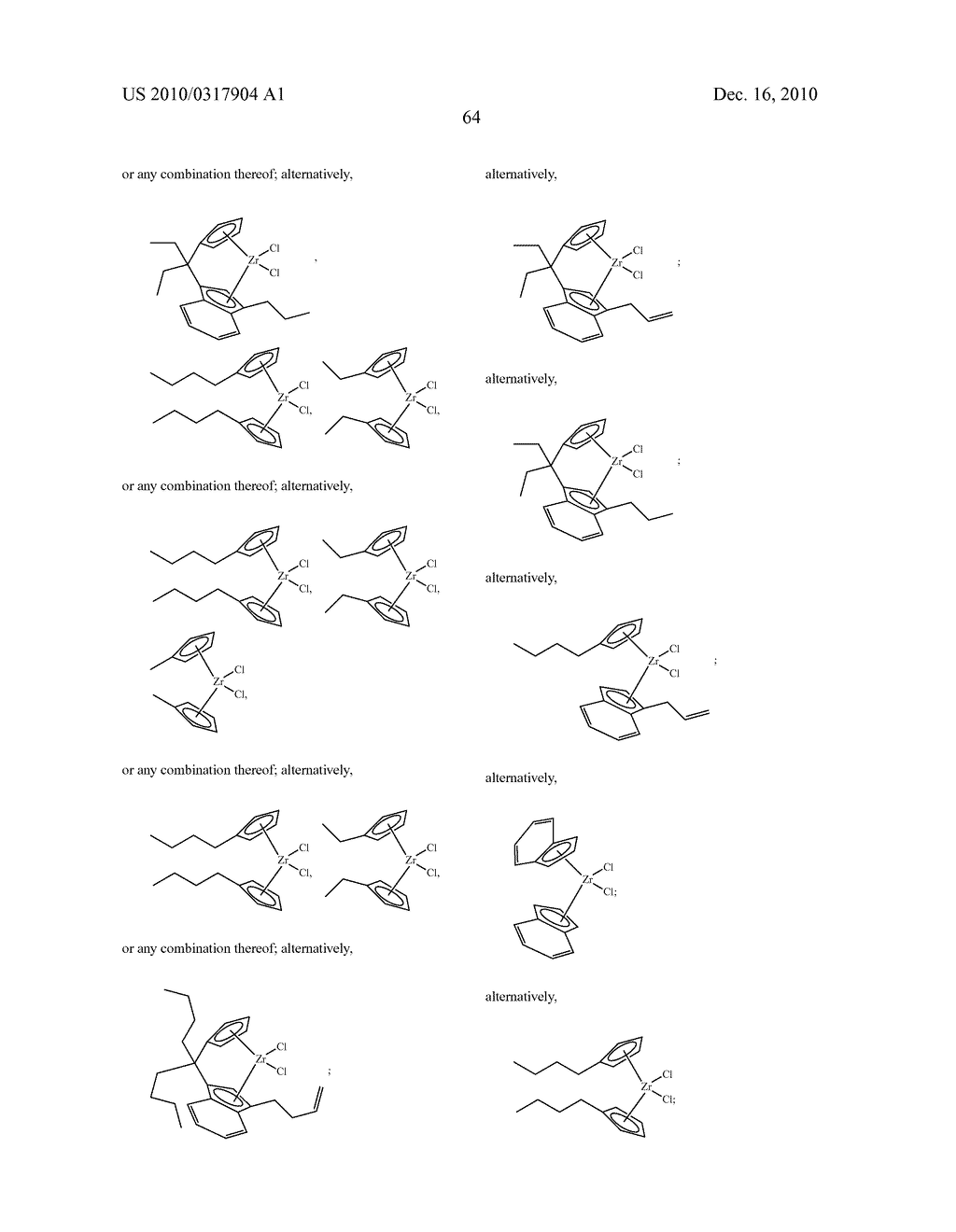 OLIGOMERIZATION OF ALPHA OLEFINS USING METALLOCENE-SSA CATALYST SYSTEMS AND USE OF THE RESULTANT POLYALPHAOLEFINS TO PREPARE LUBRICANT BLENDS - diagram, schematic, and image 76
