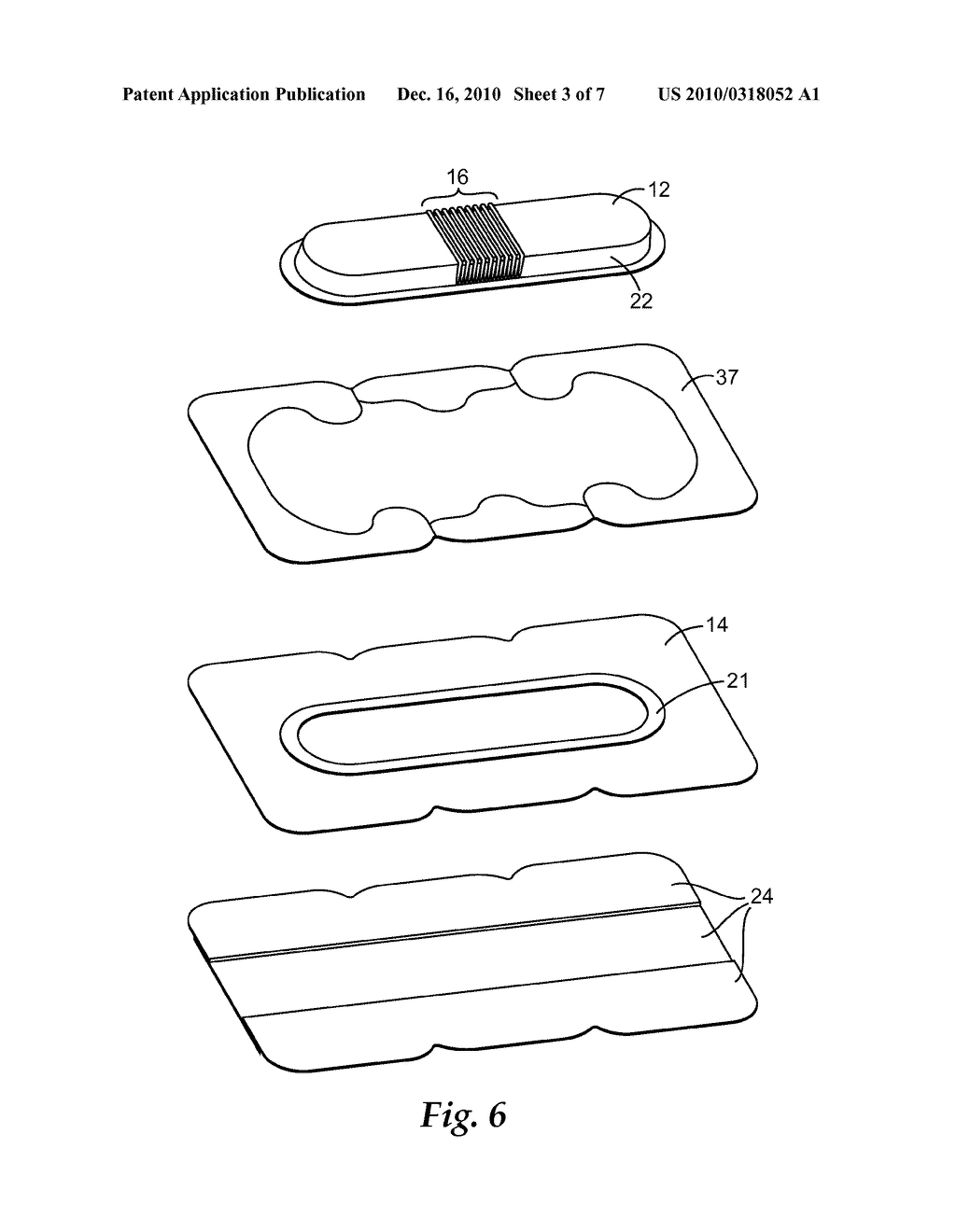 CONFORMABLE MEDICAL DRESSING WITH SELF SUPPORTING SUBSTRATE - diagram, schematic, and image 04