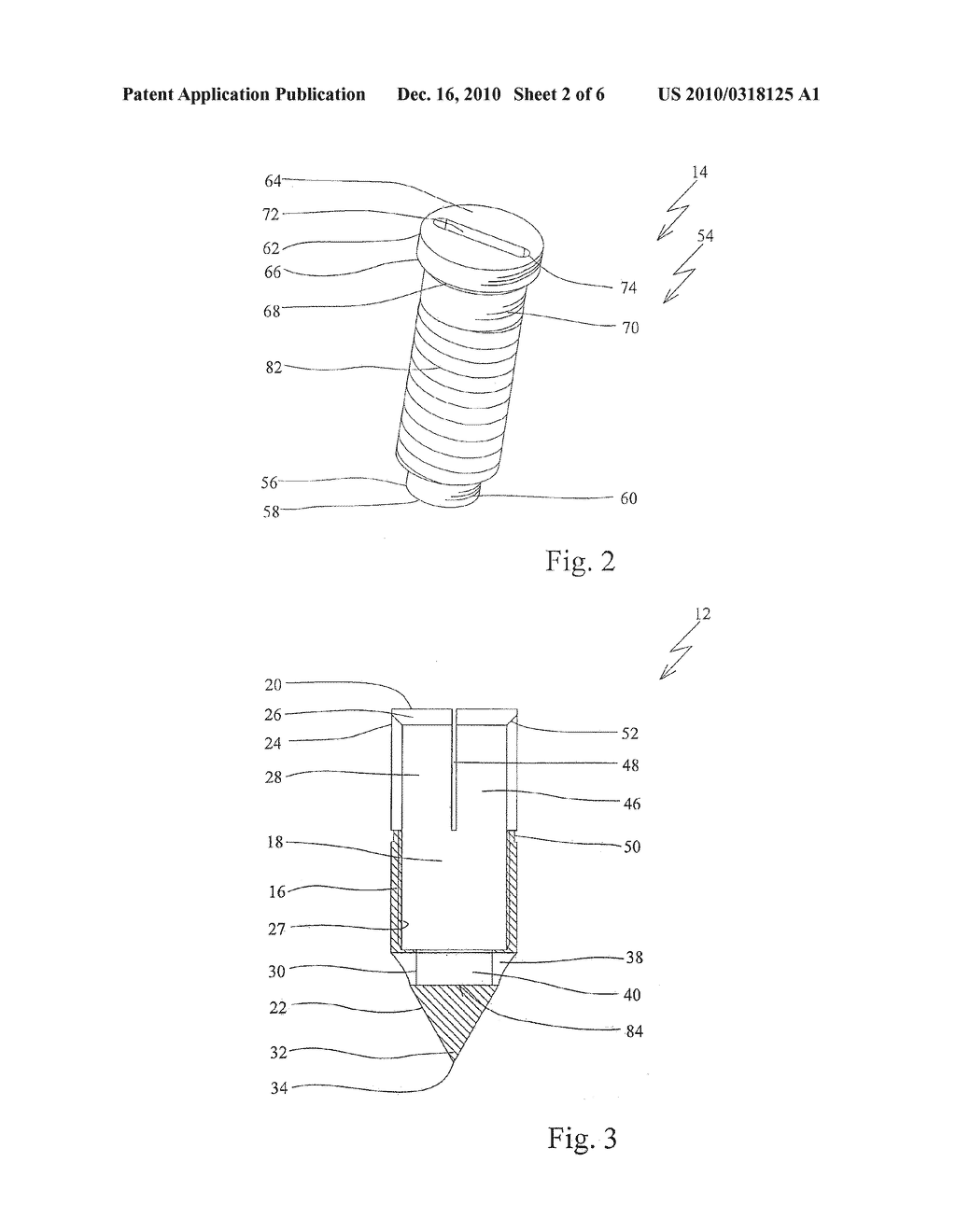 Anchor Device For Knot-Free Attachment Of Tissue To A Bone - diagram, schematic, and image 03